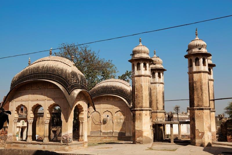 Antiguo bien en nawalgarh foto de archivo