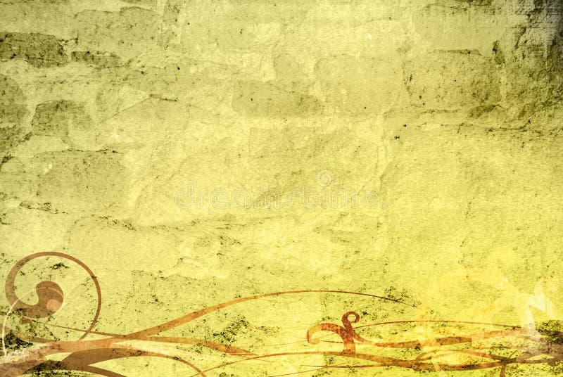 antik bakgrund stock illustrationer