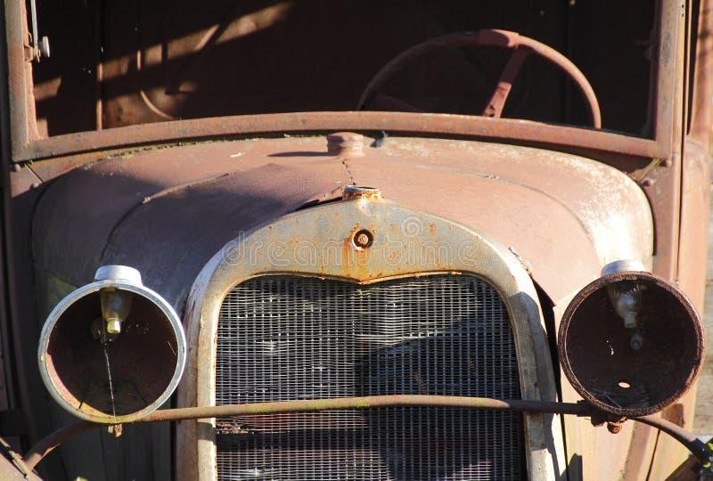 Antik bil för tappning royaltyfria foton
