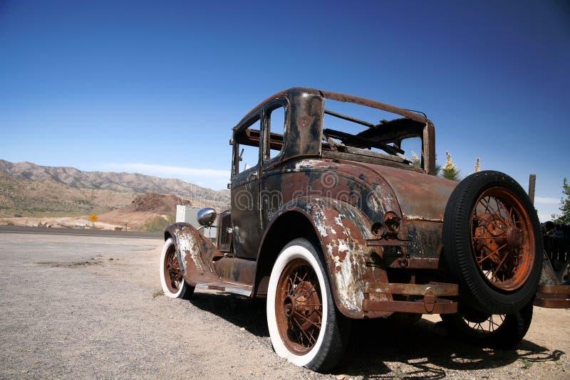 antik bil USA fotografering för bildbyråer