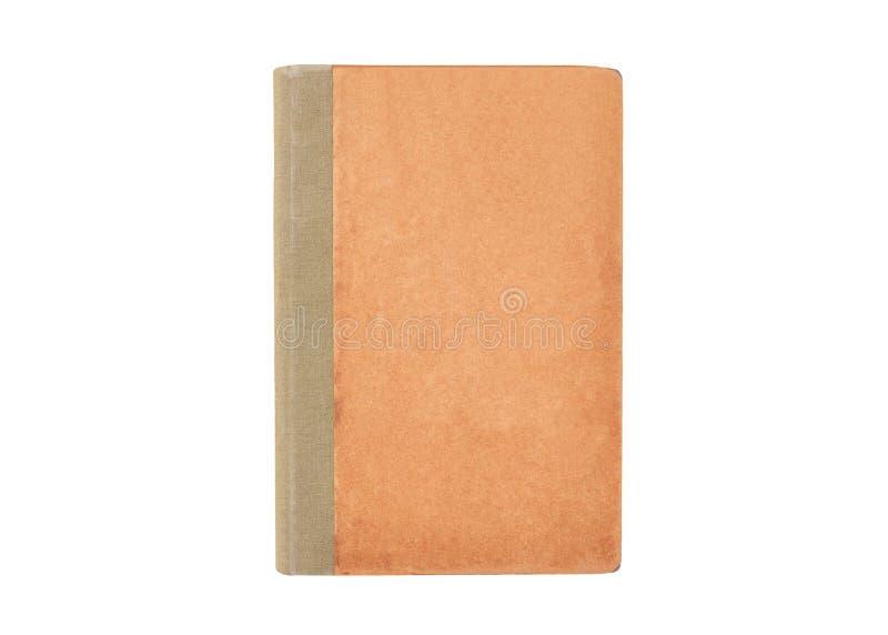 Antik bok på vit royaltyfria foton