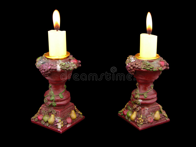 antik candelabraskruka royaltyfria foton