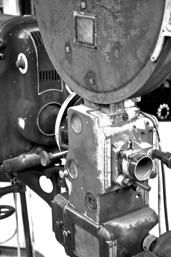 antik filmprojektor arkivfoton