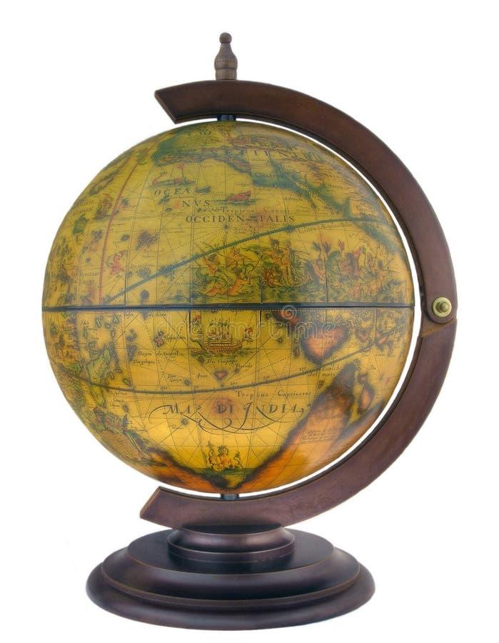 antik globusstil arkivfoton