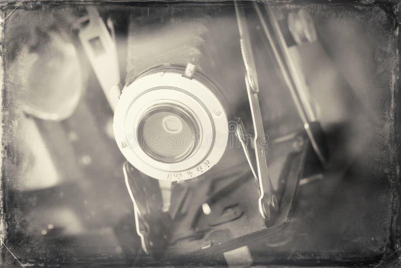 antik kamera royaltyfri fotografi