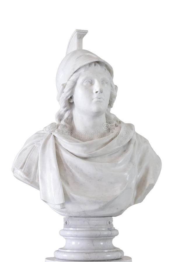 Antik kejsare - Alexander det stort. royaltyfri bild