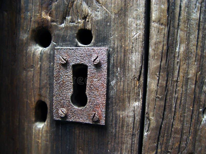 antik keyhole royaltyfria foton