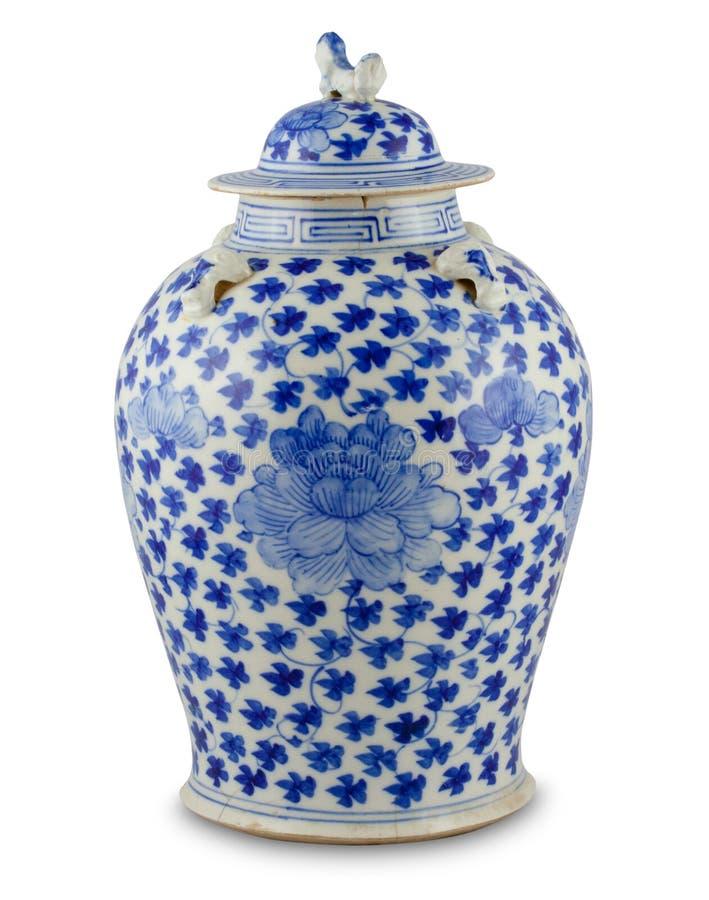 antik kinesisk vase royaltyfri bild