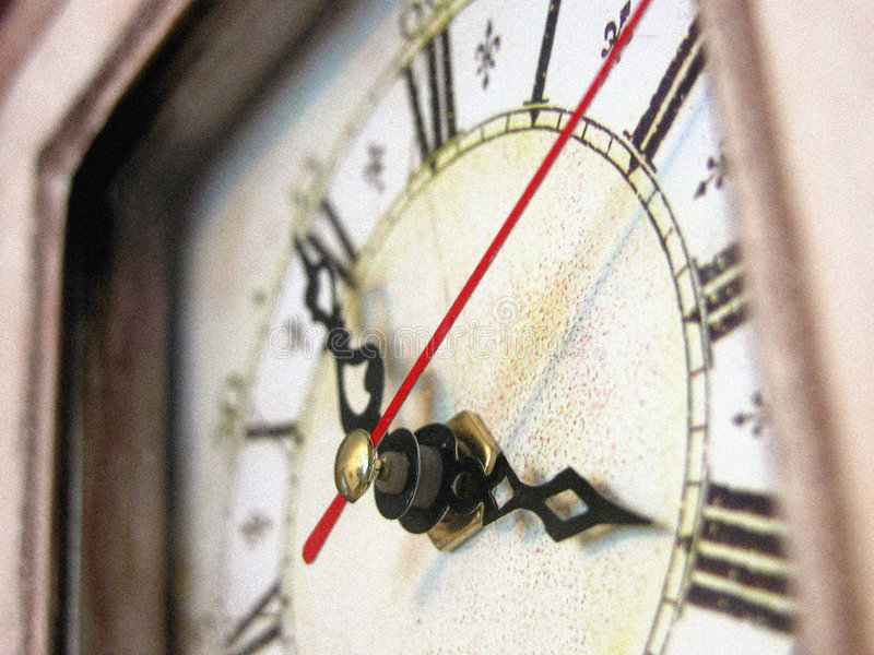 Antik Klocka Royaltyfri Bild