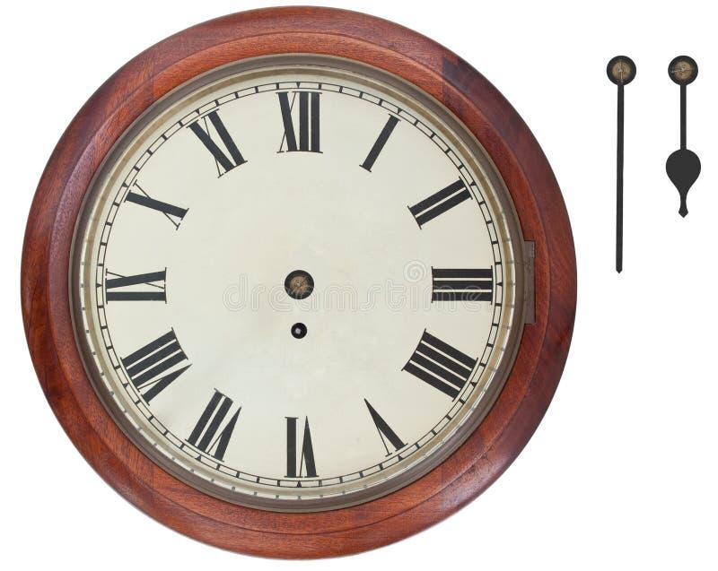 antik klockavägg fotografering för bildbyråer