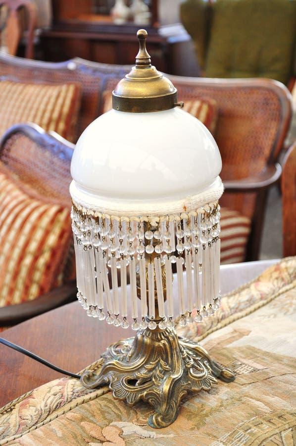antik lampa arkivfoton