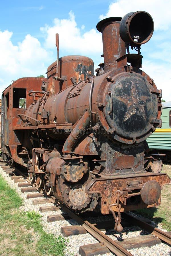 antik lokomotiv arkivfoton