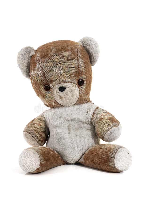Antik nallebjörn   royaltyfri foto