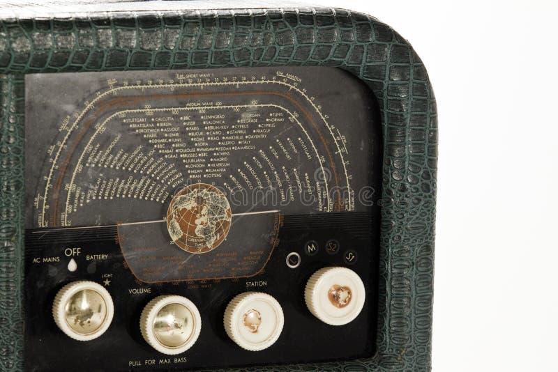 antik radio arkivfoton
