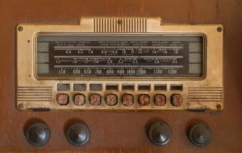 antik radio royaltyfria foton