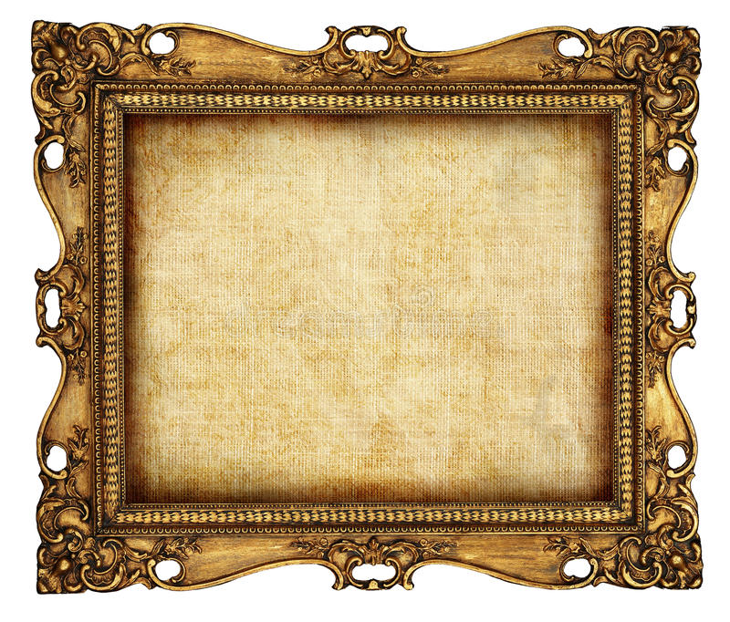 antik ram royaltyfria bilder