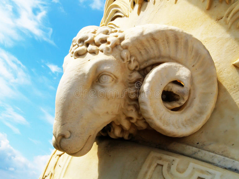 antik staty arkivfoton