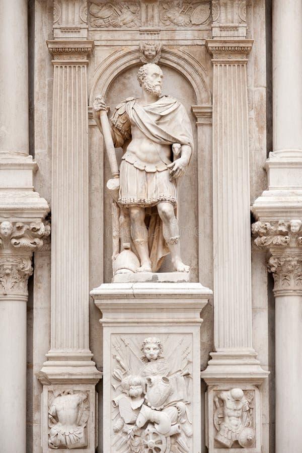 antik staty fotografering för bildbyråer