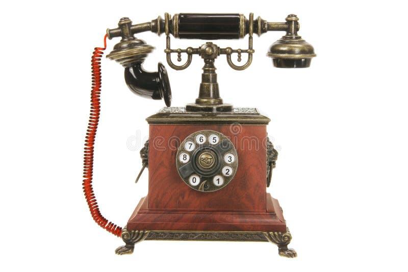 antik telefon arkivfoto