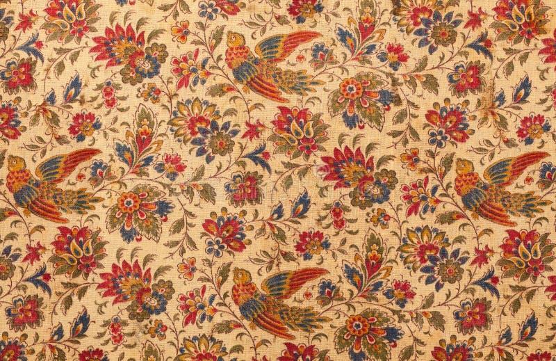 Antik textil royaltyfri bild