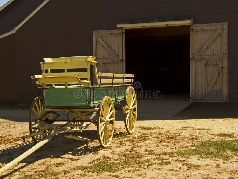 antik vagn arkivbilder