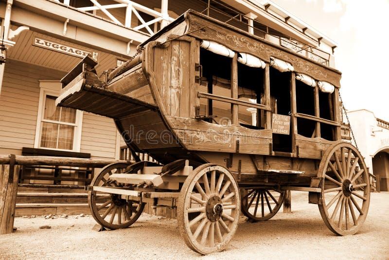 antik vagn royaltyfria bilder