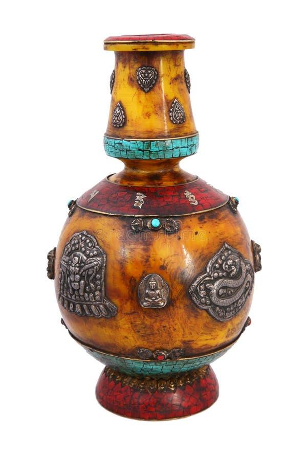 antik vase arkivfoton