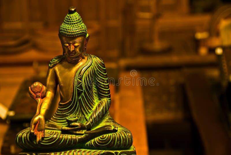 antika buddha royaltyfri bild