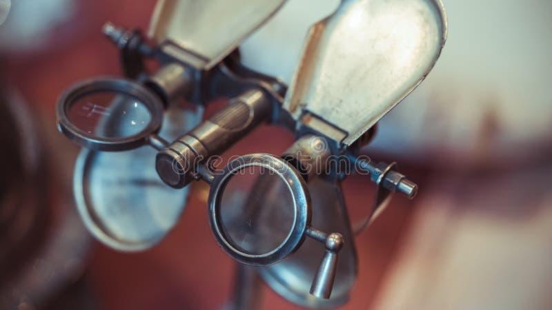 Antika Marine Binocular With Rotating Handle arkivfoto