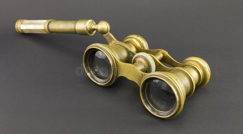 Antika operaexponeringsglas fotografering för bildbyråer