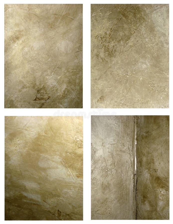 Antika väggbakgrunder royaltyfria bilder