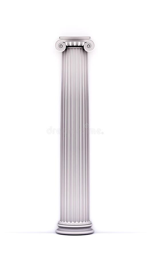 Antike doric Artspalte lizenzfreies stockbild