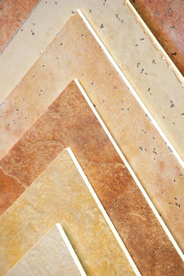 Antike Fußbodenfliesen stockfotos