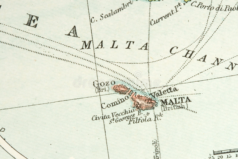 Antike Karte lizenzfreies stockfoto