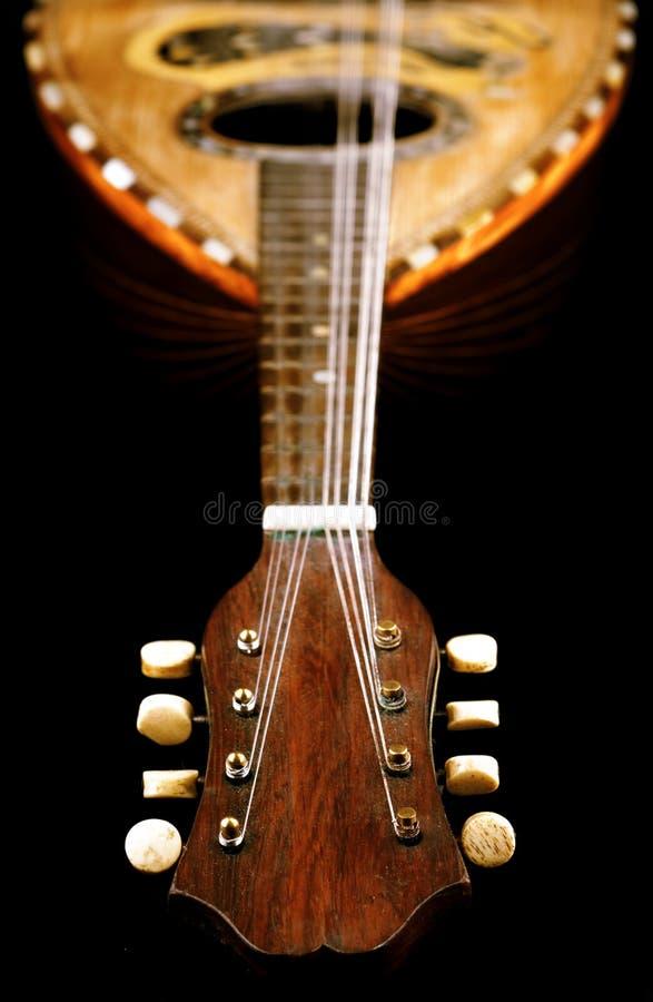 Antike Mandoline stockbild