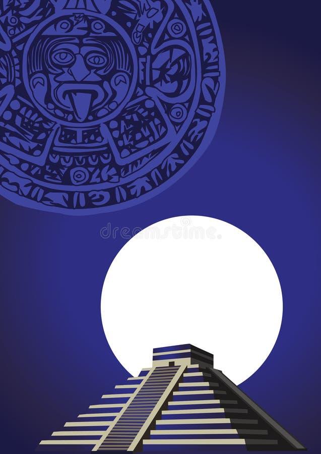 Antike Mayapyramide vektor abbildung