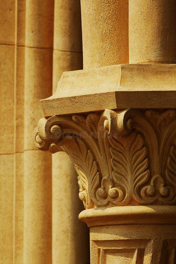 Antike Pfosten-Details lizenzfreie stockfotografie