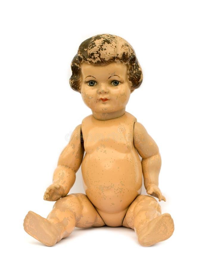 Antike Puppe stockbilder