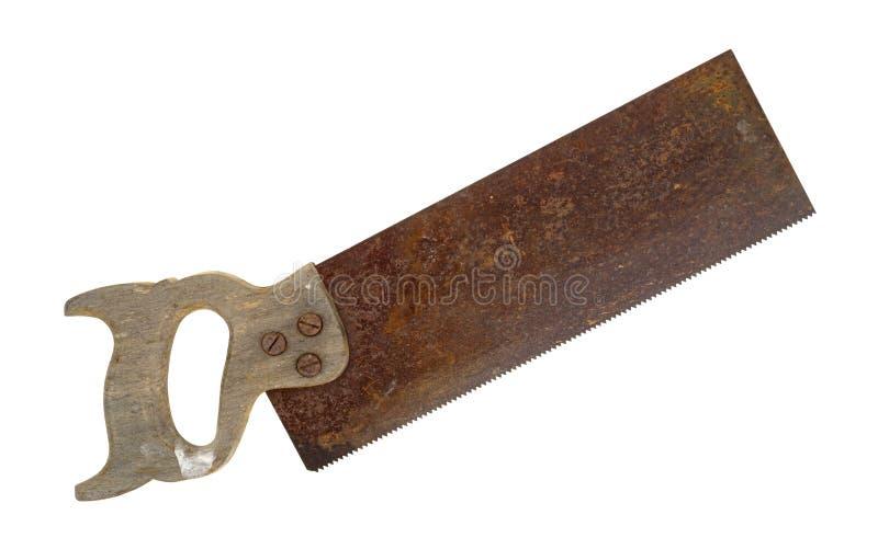 Antike Schärpesäge lizenzfreies stockfoto