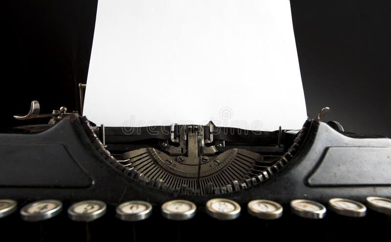 Antike Schreibmaschine stockfotos