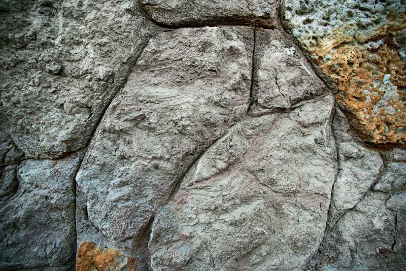 Antike Steinwand stockfotografie