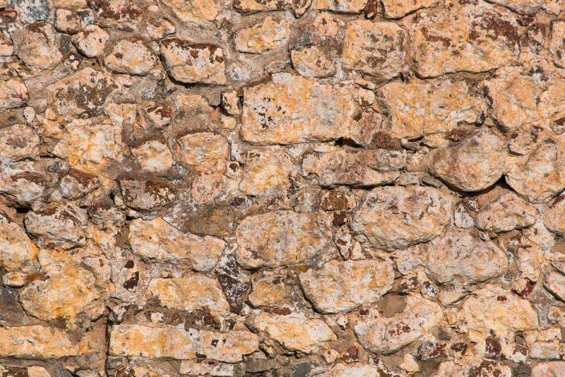 Antike Wand der Beschaffenheit von alten Ziegelsteinen stockfoto