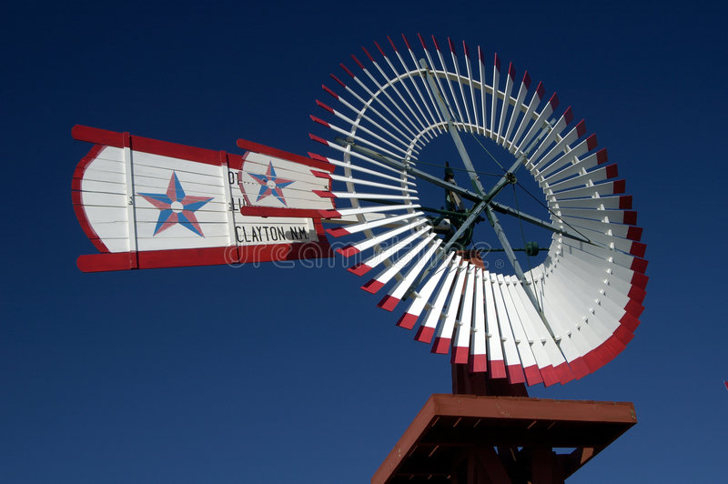 Antike Windmühle 10 stockfotografie