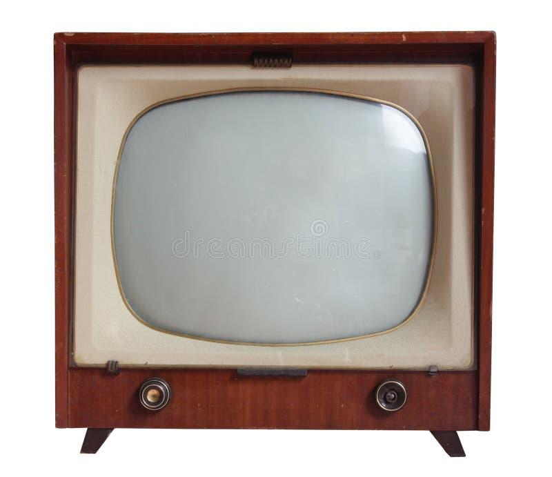 Antikefernsehapparat lizenzfreie stockfotografie