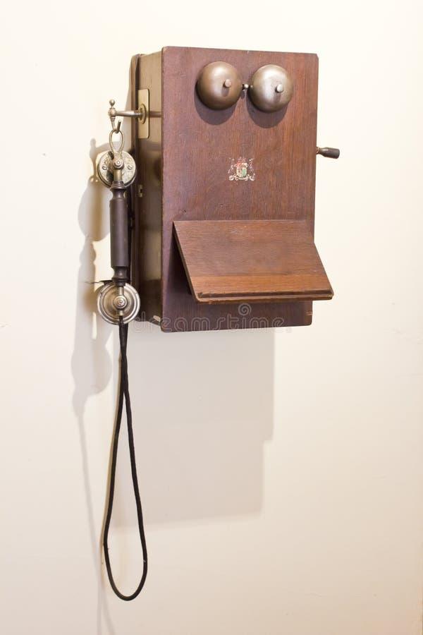 Antikentelefon stockfotos