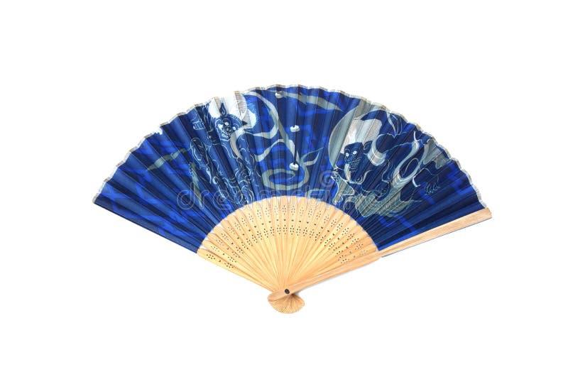 Antiker Fan-japanische Falte lizenzfreies stockbild
