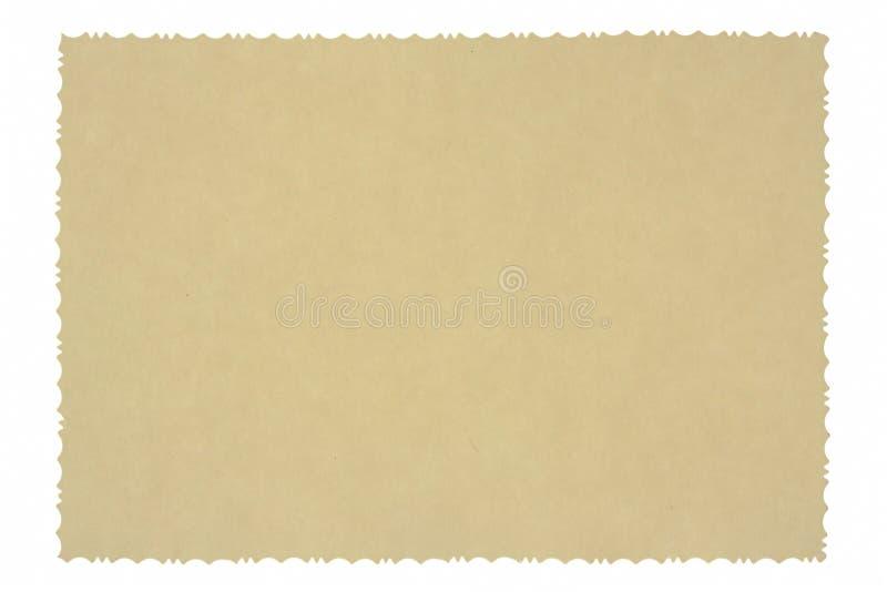 Antiker Foto-Rand lizenzfreies stockfoto