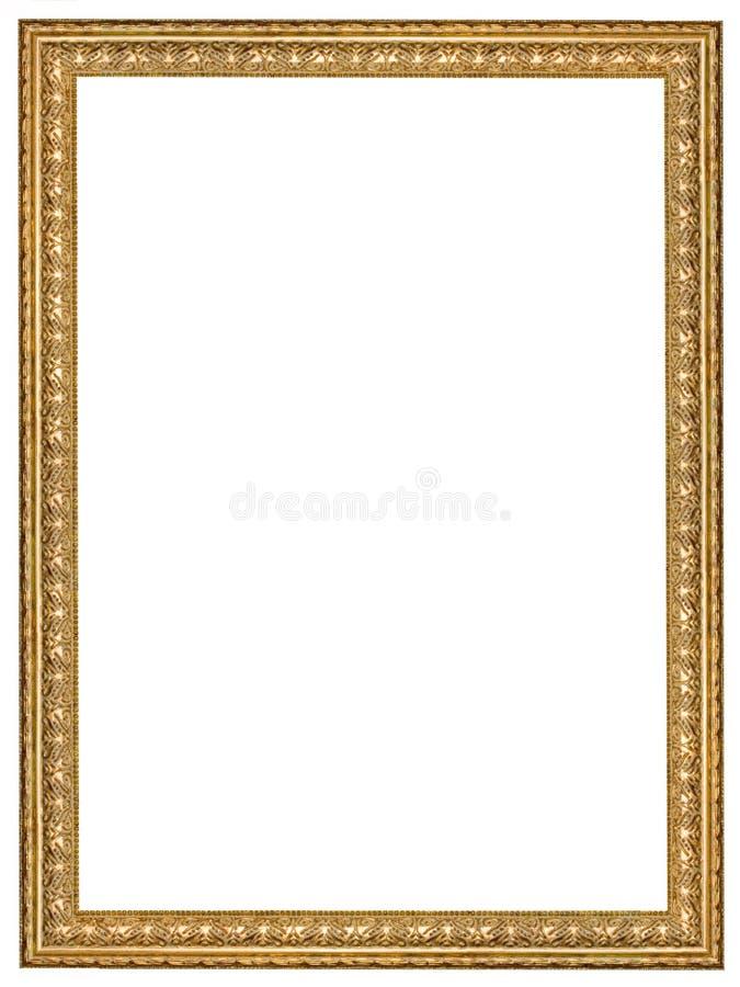Antiker Holzrahmen lizenzfreies stockfoto