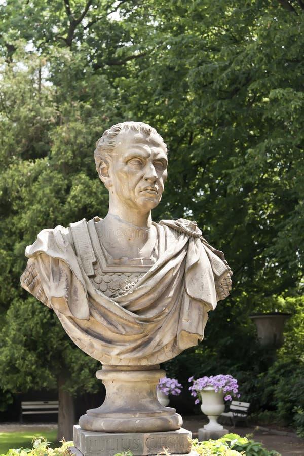 Antiker Kaiser Julius Caesar lizenzfreie stockfotos
