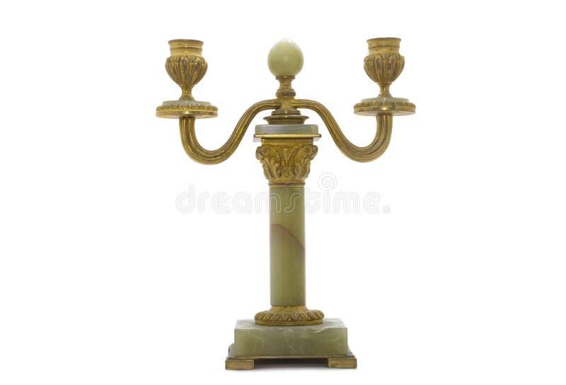 Antiker Kerzenhalter stockfotos